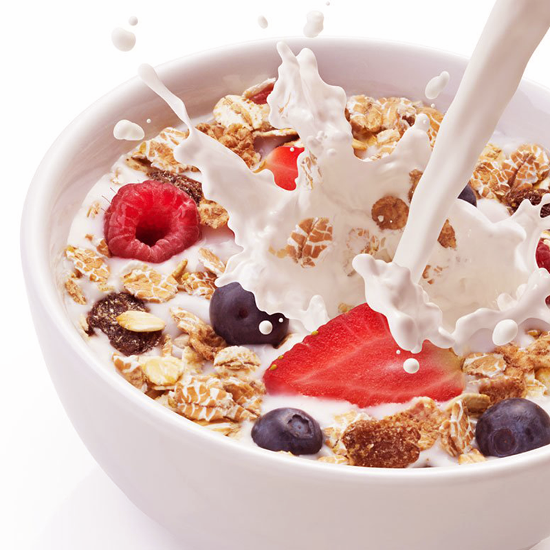 cereal milk cereal with light hints of fruit along with a creamy milk ...